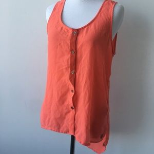 Volcom Coral Tank Top Size Small